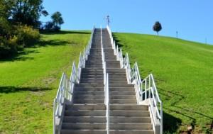 ブログ階段